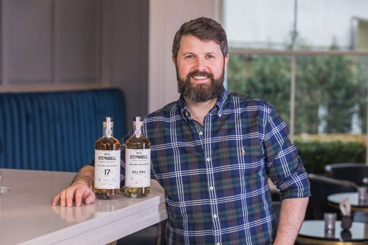 O'Connell whiskey merchants launches peated single malt