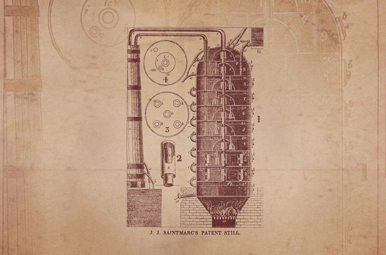 Cork's patent still's