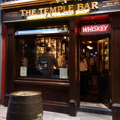 Temple Bar Whiskey Tasting Room