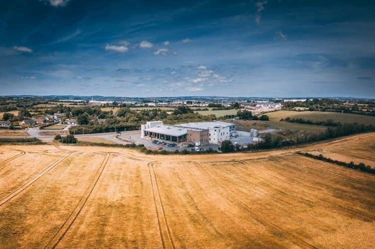 Irish Whiskey Magazine - Boann Distillery - Aerial Shot