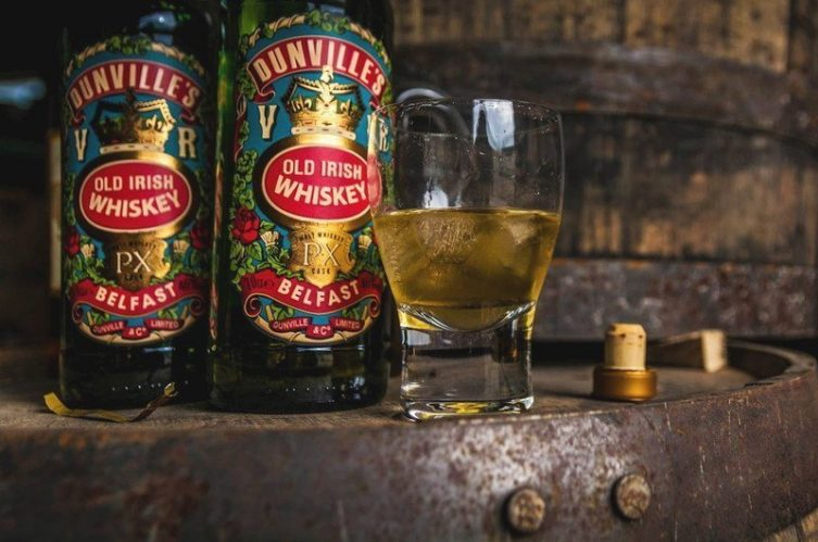 Dunville's Irish whiskey cask strength PX Irish whiskey release
