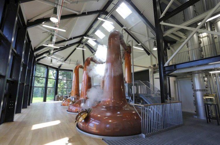 Irish Whiskey Magazine - Royal Oak Distillery - Pot Stills