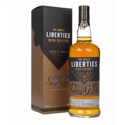 Tastings – Issue 7 – Liberties Copper Alley 10yo Single Malt