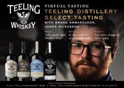 Teeling Distillery Select Tasting