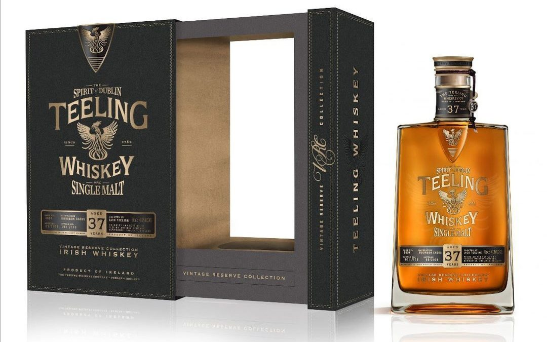 Teeling Whiskey Release 37 Year Old Single Malt