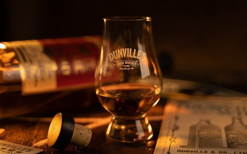 Third Palo Cortado Sherry cask finish cask strength Irish whiskey release from Dunville's