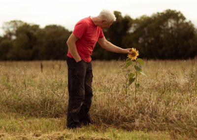 Biodynamic and organic grower Trevor Harris