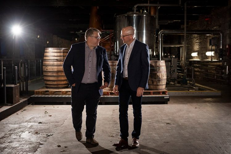 Former Master Distiller Brian Nation and Master Distiller Kevin O'Gorman