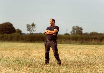 Organic Farmer Jason Stanley