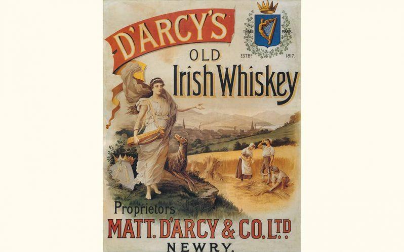 Matt D'Arcy Irish Whiskey toasts £100,000 launch sales