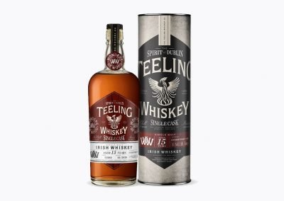 Second in the Wonder of Wood series from Teeling - 15yo single malt finished in Cherry Wood