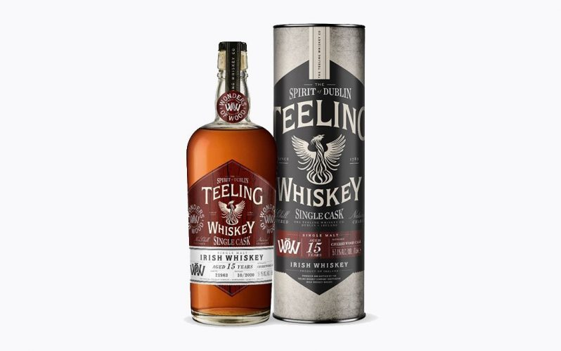 Second in the Wonder of Wood series from Teeling – 15yo single malt finished in Cherry Wood