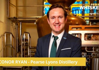 Words on Whiskey - Conor Ryan of Pearse Lyons Distillery