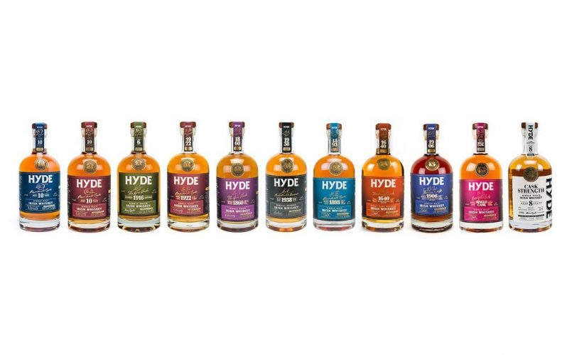 Create your own customised single cask whiskey with HYDE Irish Whiskey