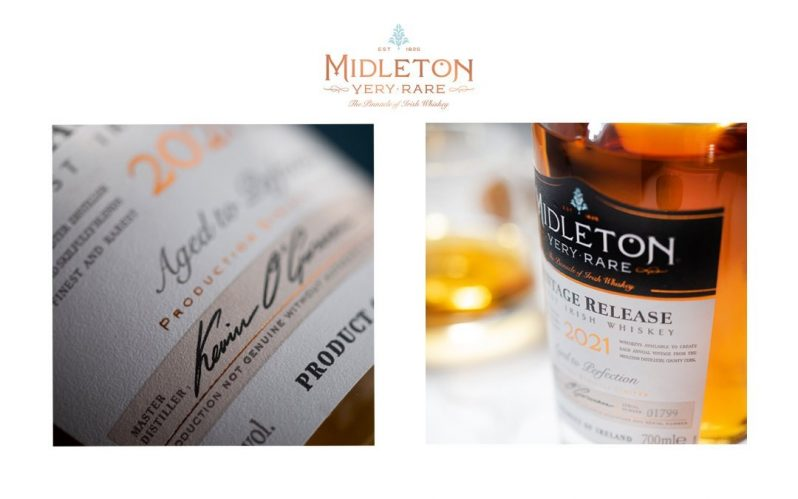 Midleton Very Rare 2021 Irish whiskey unveiled