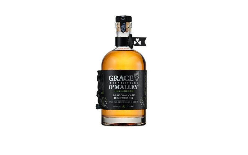 New Irish whiskey release – Grace O'Malley Dark Char Cask