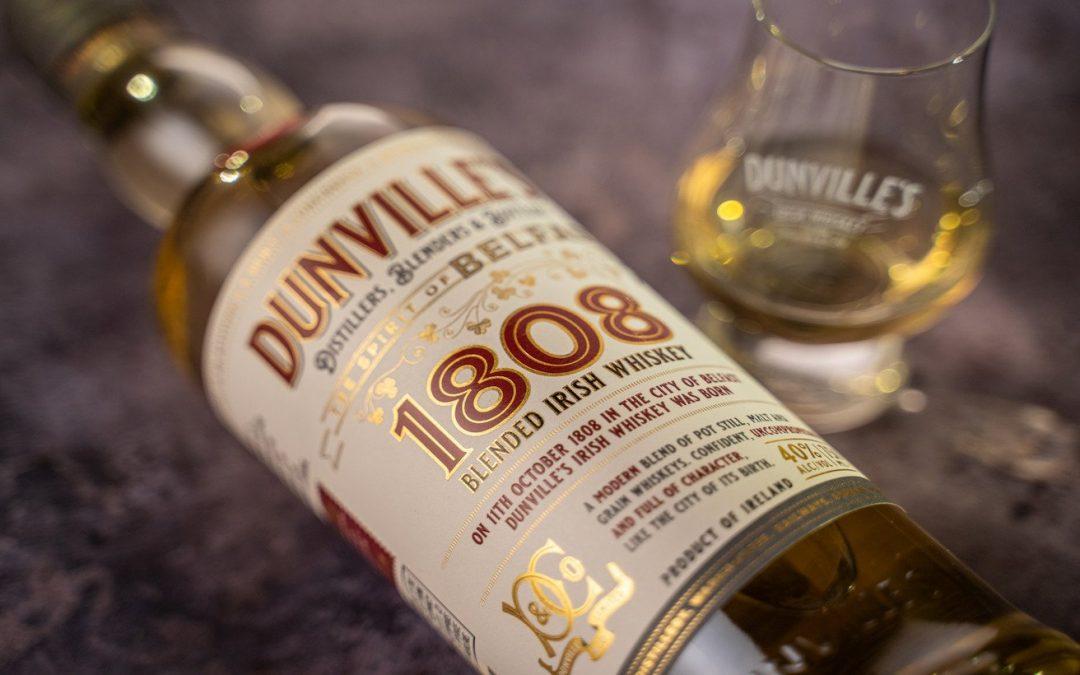New Dunville's 1808 Irish whiskey