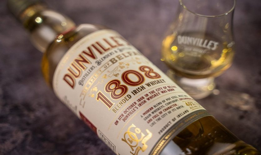 New Dunville's 1808 Irish whiskey