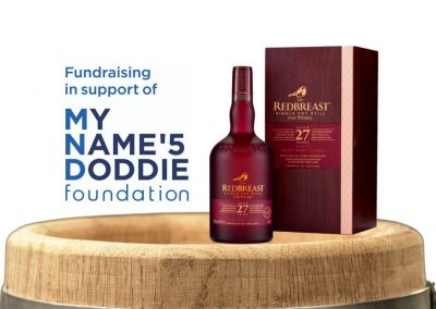 Irish Whiskey Draws in aid of My Name'5 Doddie Foundation