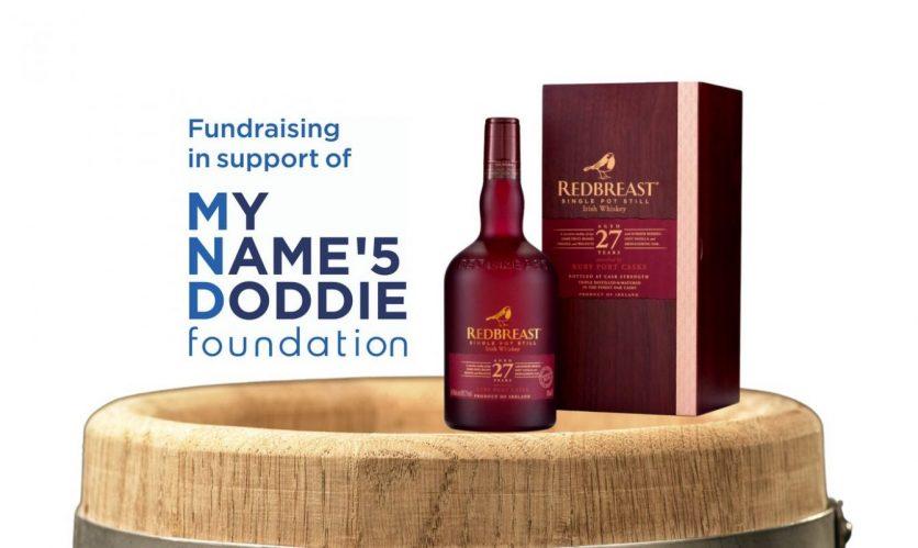 Irish Whiskey Draws in aid of My Name'5 Doddie Foundation