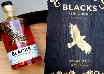 Blacks Distillery release 18-year-old Irish Rum cask finish