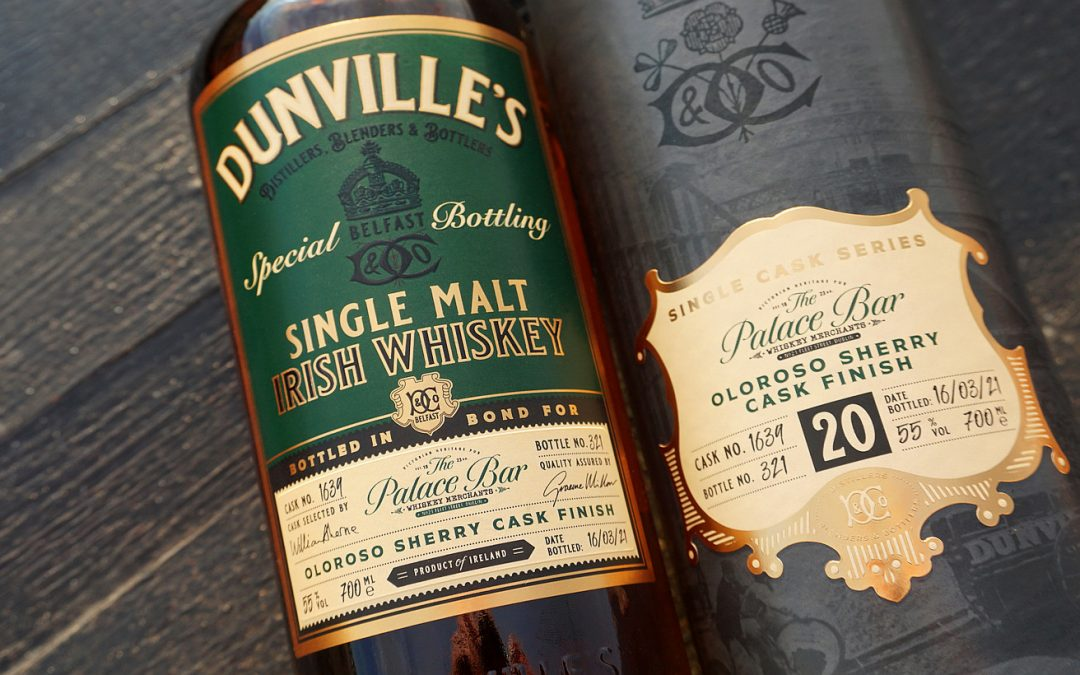 Irish Whiskey Magazine - Echlinville Distillery and The Palace Bar release 20 year old whiskey