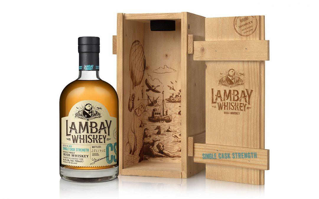 Lambay Whiskey release cask no. 4613